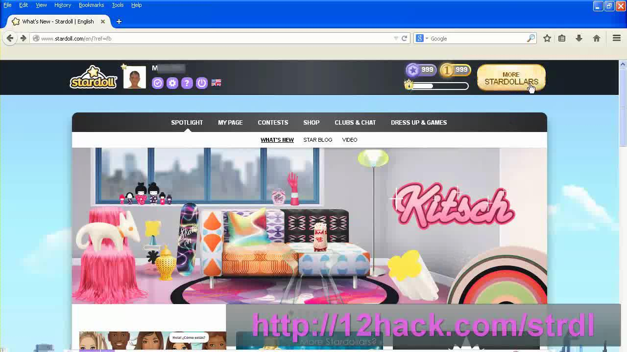 Stardoll Hack Unlimited Stardollars and Starpoints Energy Cheats